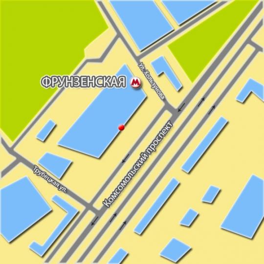 МДМ схема проезда
